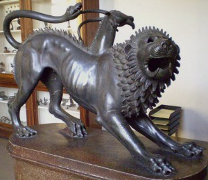 Photo of Eutruscan 'Chimera di Arezzo'
