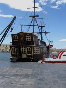 Pirate ship, Rethymno