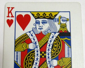 Photo of the King of Hearts
