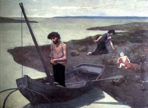 Pierre Puvis de Chavannes, The Poor Fisherman