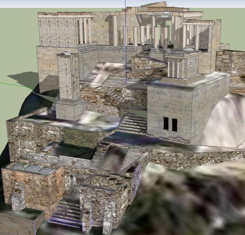 Acropolis model 3