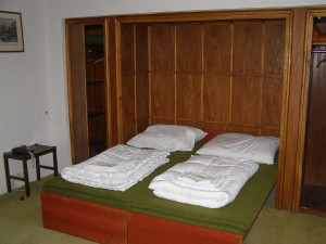 Bedroom for a memory palace